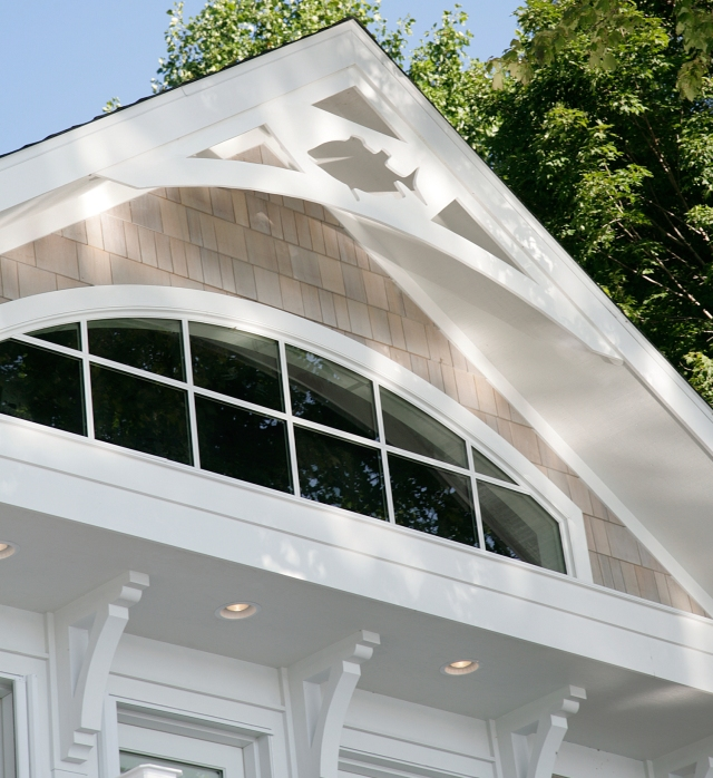 This week we answer questions on the Dream Lake Home Fishy Gable End Trim photo. Click on the photo for questions and answers about this home built by Martin Bros. Contracting, Inc.