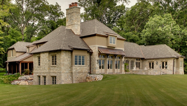 French Country Retreat - Custom Built Home by Martin Bros. Contracting, Inc., Goshen, IN