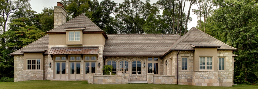 Custom built luxury home by Martin Bros. Contracting, Inc., Goshen, IN 46526