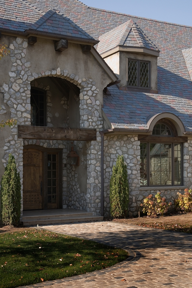 We continue our series highlighting questions we have received on our Houzz projects. This week we answer questions on the Rustic French Country Estate.